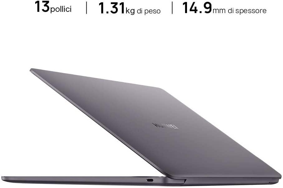 Recensione MateBook 13 AMD