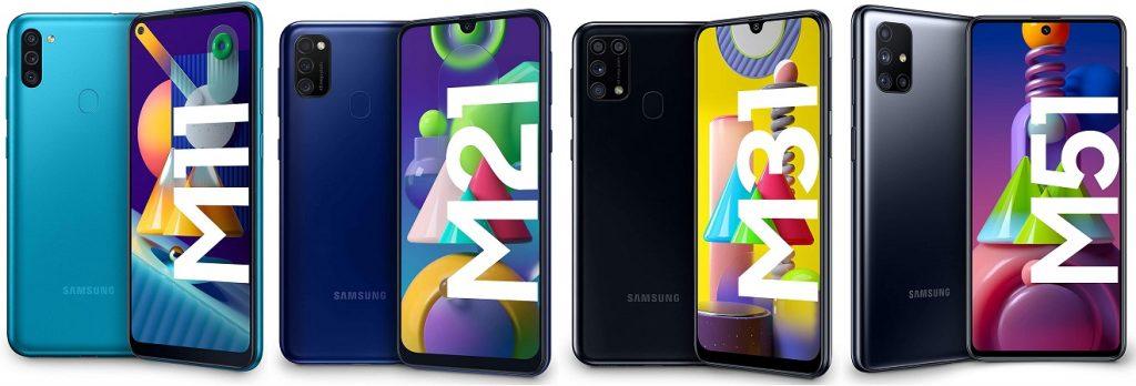 Migliori Smartphone Samsung Galaxy Serie M