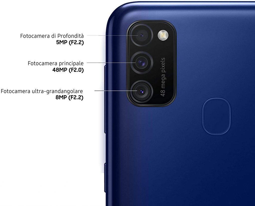 Samsung Galaxy M21 Recensione