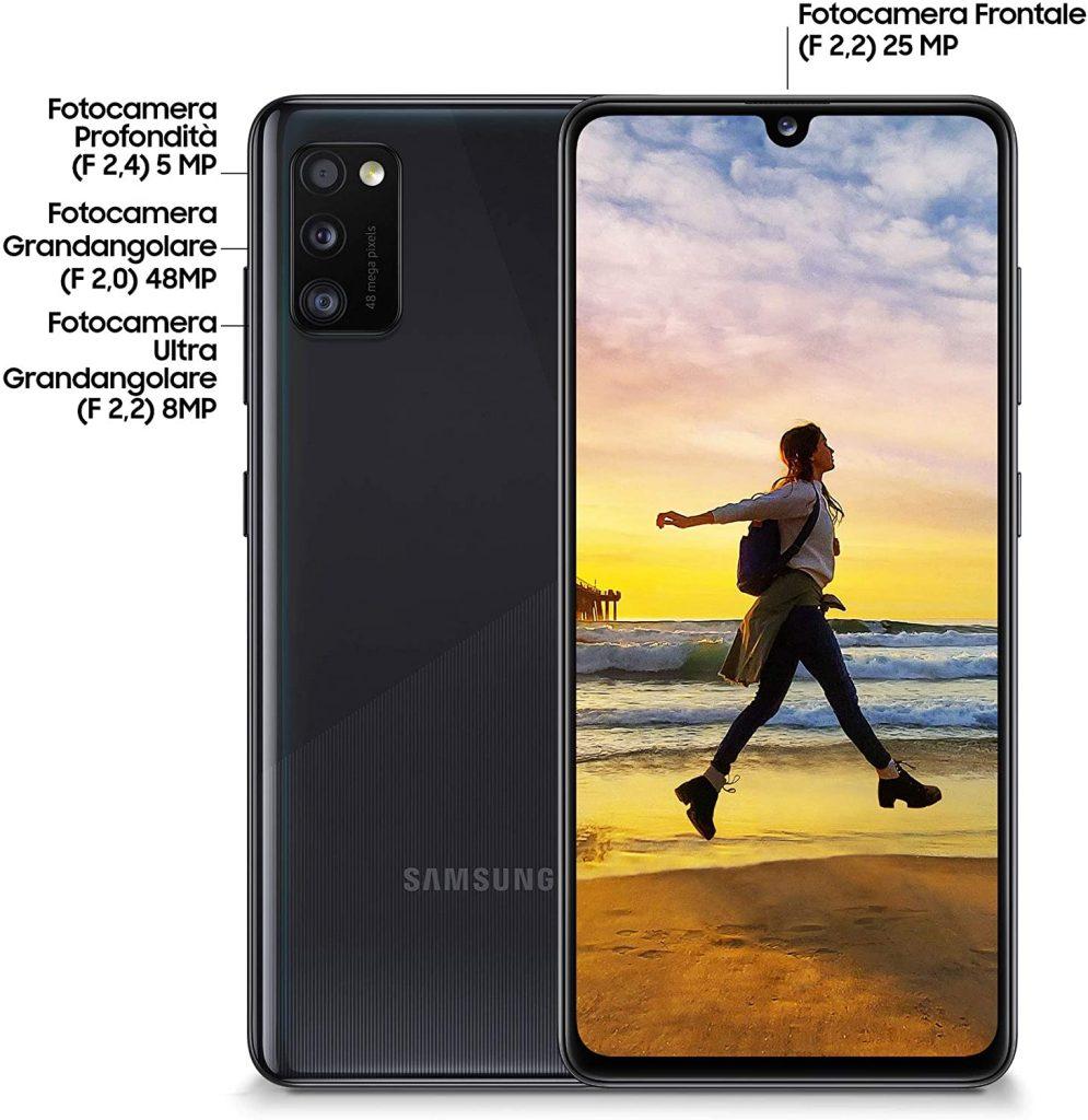 Samsung Galaxy A41 Recensione
