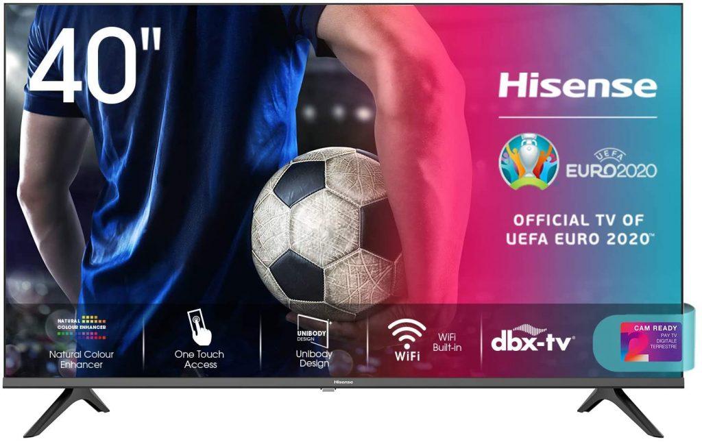 Recensione Smart Tv Hisense 40AE5500F
