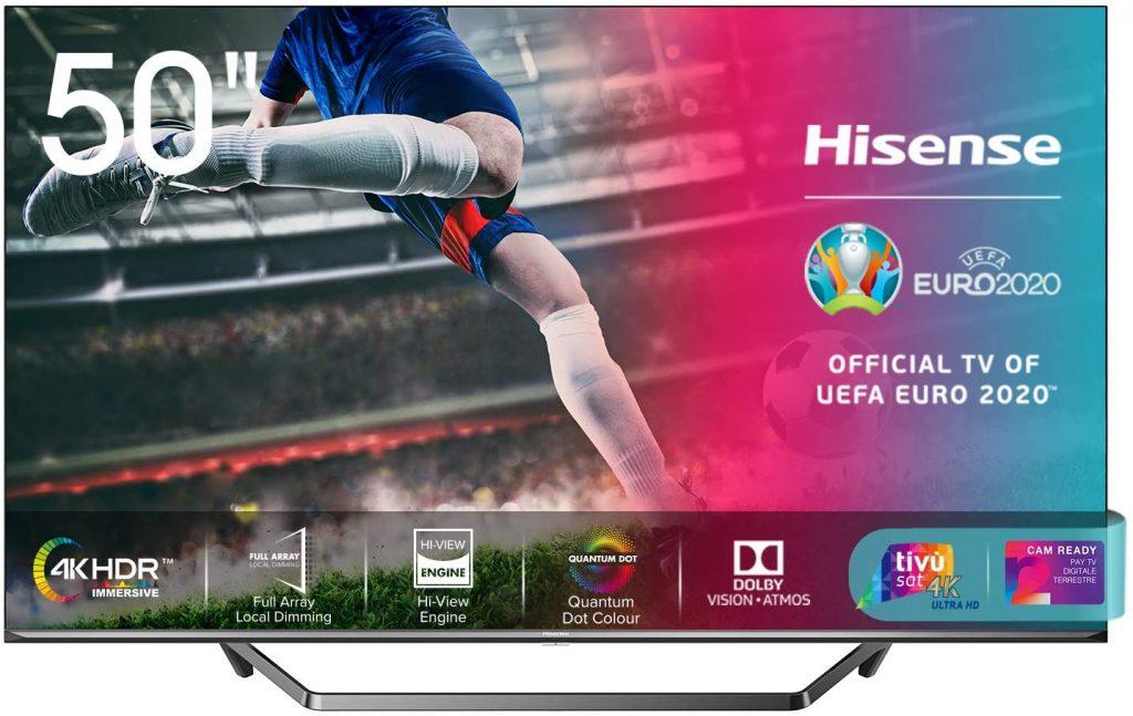 Recensione Smart Tv Hisense Serie U71QF
