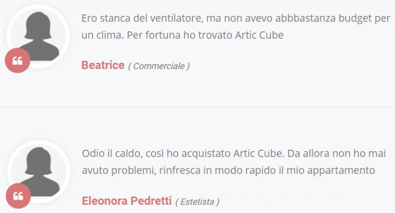 Artic Cube Opinioni
